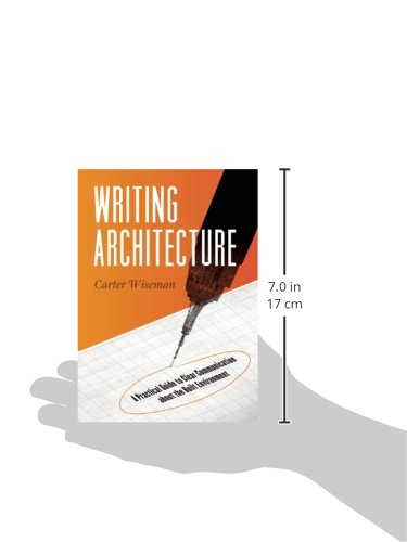 Writing Architecture: A Practical Guide to Clear Communication about the Built Environment by Trinity University Press