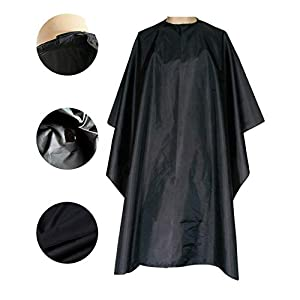 Magiczone Professional Barber Cape - Salon Cape with Snap Closure - Nylon Hair Cutting Cape, Hairdresser Cape from Magiczone