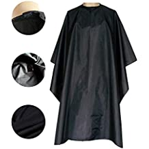 "Magiczone Waterproof Professional Salon Cape with Snap Closure Nylon Hair Salon Cutting Cape Barber Hairdressing Cape - 59"" x 51"""