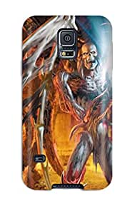 High Impact Dirt/shock Proof Case Cover For Galaxy S5 (angel)