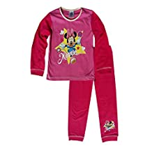 Girls Toddlers Minnie Mouse Snuggle Fit Pajamas Age 1 to 4 Years
