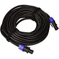 Monoprice 108771 50-Feet 12AWG 2-conductor Speakon Type NL4FC Female-Inch Speakon Type NL4FC Female Cable