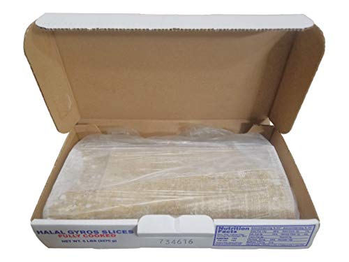 Halal Beef and Lamb Gyro Slices - Fully Cooked, Frozen - 5 lb box by Midamar (Image #3)