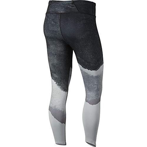 Nike Women's Epic Lux Watercolor Running Tights Wolf Grey/Cool Grey/Black/Reflect Gold M by Nike (Image #1)