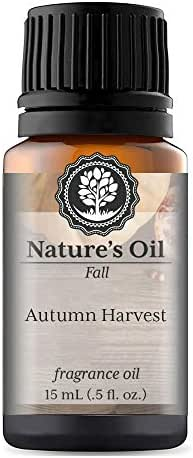 Autumn Harvest Fragrance Oil (15ml) For Diffusers, Soap Making, Candles, Lotion, Home Scents, Linen Spray, Bath Bombs, Slime