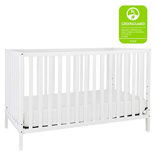 Union 3-in-1 Convertible Crib, White