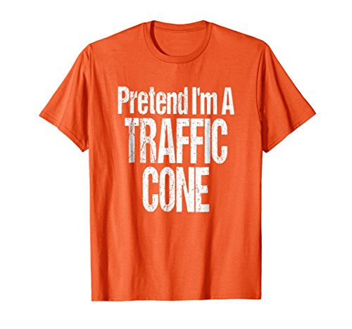 Fun and Easy Halloween Costume T-Shirt Orange Traffic Cone for $<!--$15.99-->