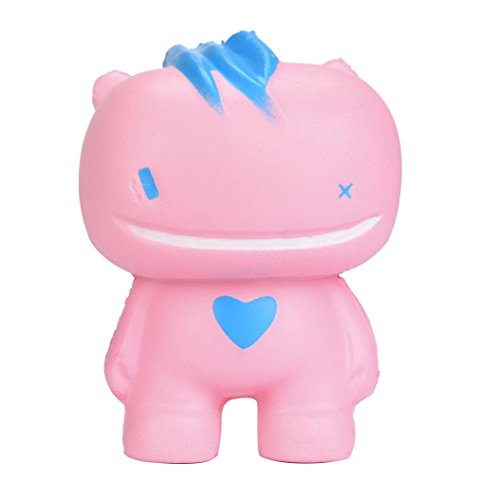 Price comparison product image Vovotrade Squeeze Toy Squishy Toys Slow Rising Cream Scented Decompression Toy Stress Reliever Decor (Pink)