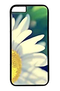 Personalized Protective Cases for New iPhone 6 PC Black Edge - Daisy by supermalls