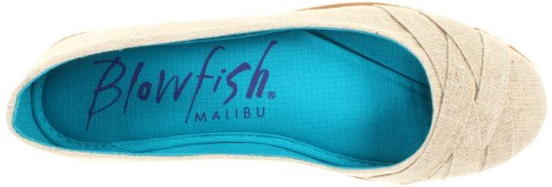 Blowfish Glo Damen Natur Rund Textile Wohnungen Schuhe Neu/Display EU 39,5