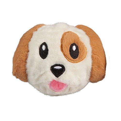 Image of fabdog Dog Emoji faball Squeaky Dog Toy (Small)