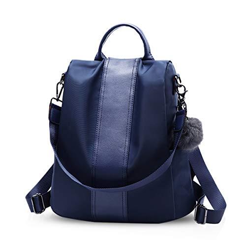 NICOLE & DORIS Backpack Women Casual rucksack Waterproof Fashion Backpack for ladies large capacity anti-theft shoulder bag - Nicole Oxford