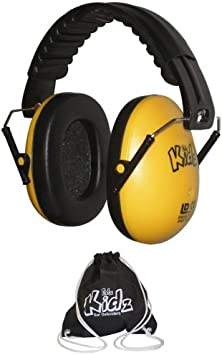 EDZ Kidz Ear Defender for Children and Kids with Carry Bag