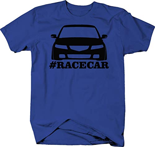 - Acura TSX Racing Lowered #Racecar Color Tshirt - Large
