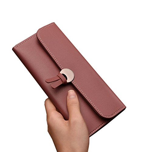 Tuesdays2 PU Color Purse Card Women Long Wallet Leather 1 Bag Case Handbag Clutch Holder grTgw7q5