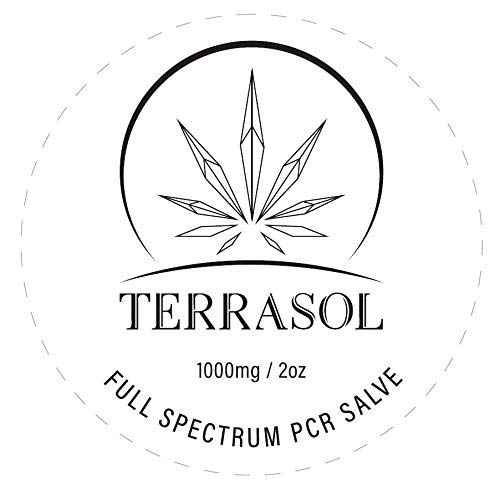 Organic Full Spectrum 1000mg Hemp Salve (No THC) 2oz by TerraSol (Image #2)