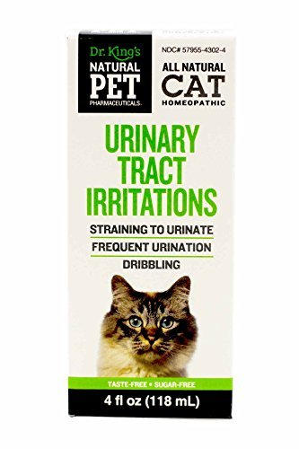 Natural Pet Pharmaceuticals By King Bio Urinary Tract Irritations Control For Cat  4 Ounce