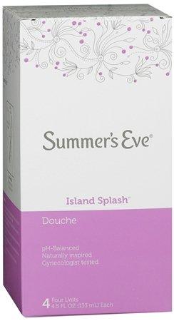 - Summers Eve Douche Island Splash - 4 ea, 3 Pack