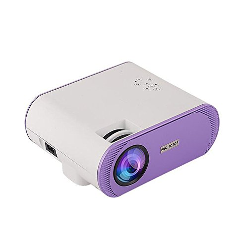 Video Projector Home Theater HD Display Support 1080P with HDMI/AV/USB/SD