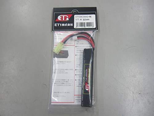 ET1/リポバッテリー/7.4V/800mAh/スリム/イエローライン 303 B07RTSR3JK