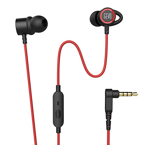 Noise Cancelling Headphones with Microphone Inear Earbuds Wired Stereo