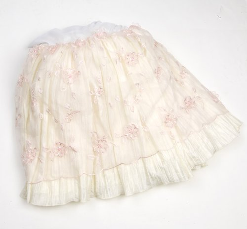 Cotton Glenna Crib Skirt Jean (Glenna Jean Ava Crib Skirt)