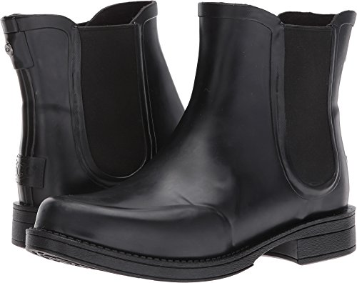 UGG Womens Aviana Chelsea Boot Black Size 7 (Height Ugg Boot Shaft)