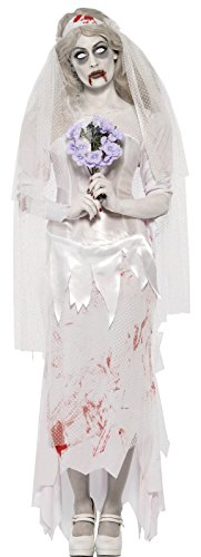 Smiffys Women's Zombie Bride Costume