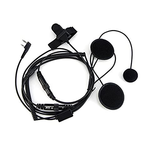 Amazon Com Baofeng Helmet Kit 2 Pin Full Face Motorcycle Headset