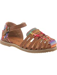 Bearpaw Girls' Tasha Huarache Sandal