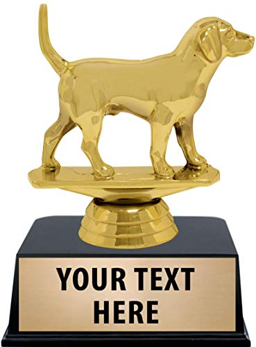Crown Awards Dog Trophies with Custom Engraving, 6