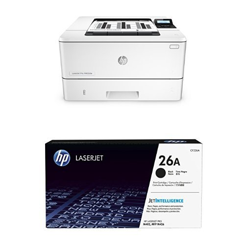 HP LaserJet Pro M402dw Printer and Black Toner Bundle by HP