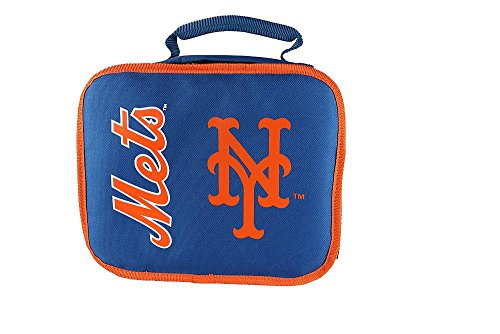 The Northwest Company Officially Licensed MLB New York Mets Lunchbreak Lunchbox, Blue
