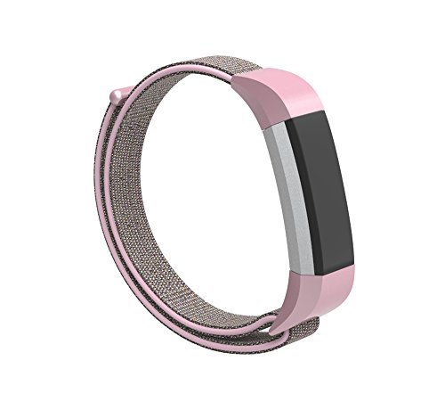 JOMOQ Compatible with Ace Bands for Kids,Alta HR/Alta Bands,Nylon Adjustable Wristbands for Ace/Alta HR Fitness Tracker