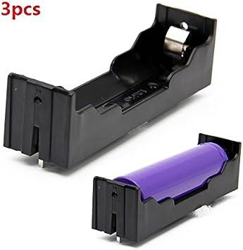 ILS - 3 Piezas 1-Slot Holder 18650 DIY con los contactos: Amazon ...