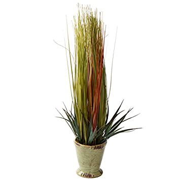 Amazon Com Factory Direct Craft Artificial Wheat Grass Planter