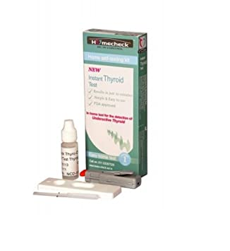 Buy Instant Thyroid Test Online At Low Prices In India Amazon In