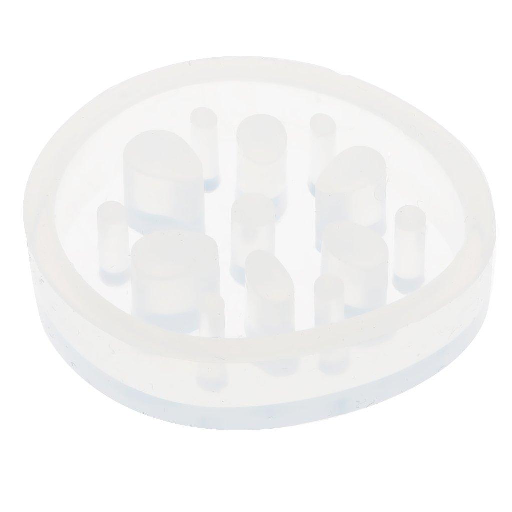 MagiDeal Molde de Silicona Flexible en Forma de Raíz de Flor Loto Elegante para Proyectos de Manualidades DIY