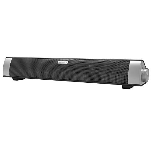 JingXiGuoJi NFC Bluetooth Wireless Speaker With Enhanced Bass Sound Bar 10W RMS for iPhone, iPad, Samsung, Nexus, HTC, TV and More