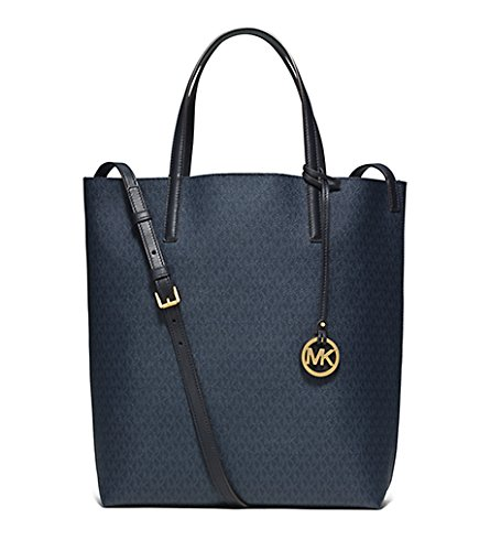 569eb27486e6 Amazon.com: MICHAEL KORS Hayley Large Tote - BLUE/LIGHT-SKY: Shoes