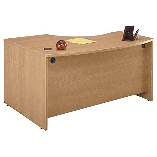 Scranton & Co 60 x 43 RH L Bow Desk in Light Oak ()
