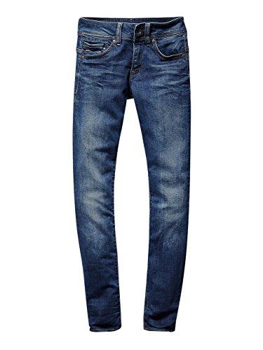 Mid star G W Saddle Midge Blu Jeans Straigth Raw wI7Hx7d