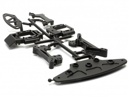 HPI Racing Shock Tower/Bumper Set (Nitro3) 85031