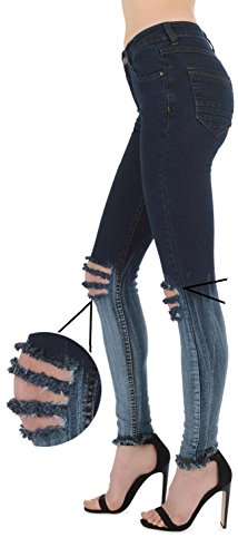 Multicoloured Jeans Femme Twin 34 Dark Real Blue HOXTON Shade 4PqwHt