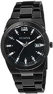Bulova Men's 98B234 Classic Analog Display Japanese Quartz Black Watch