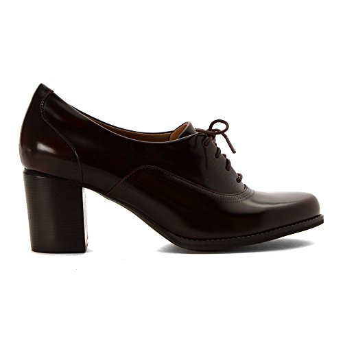 Amazon | Clarks Women's Tarah Victoria Burgundy Leather Pump 6 B M |  Pumps