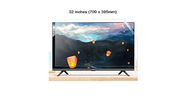 N / A 32 Pulgadas protección de la Pantalla de TV, la protección de la Pantalla del Panel de Filtro Anti-Reflejo Claro de Ojos Azul Anti-Fatiga de ventilación Fits LCD/TV y PC/Mac