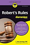 Your no-nonsense guide to making sense of Robert's Rules The classic Robert's Rules of Order has a proven track record of helping membership groups apply codes of conduct to serve as a parliamentary authority within a given assembly. Unfortunately, w...