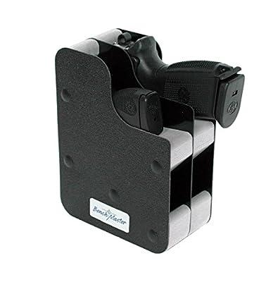 BenchMaster Weapon Rack - Six (6) Gun Vertical Pistol Rack - Gun Safe Storage Accessories - Gun Rack
