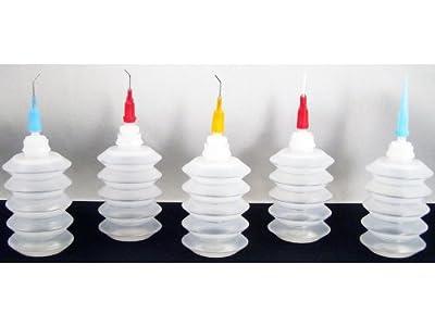 Speedball Akua Steel/Plastic Needle Applicator Set, 1 oz Bottle